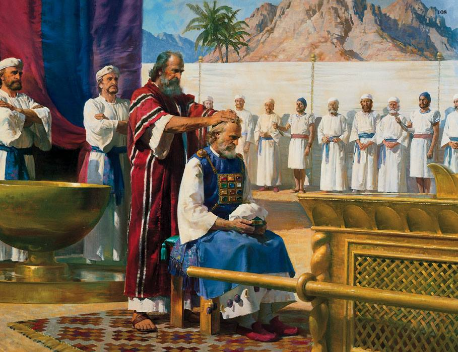 出埃及記第四十章- 耶和華的榮光...