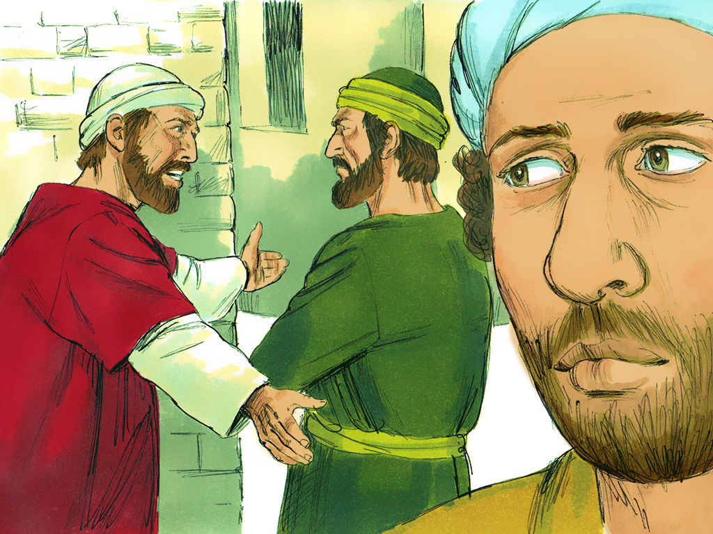 「於是二人起了爭論,甚至彼此分開。巴拿巴帶著馬可,坐船往居比路去;保羅揀選了西拉,也出去,蒙弟兄們把他交於主的恩中